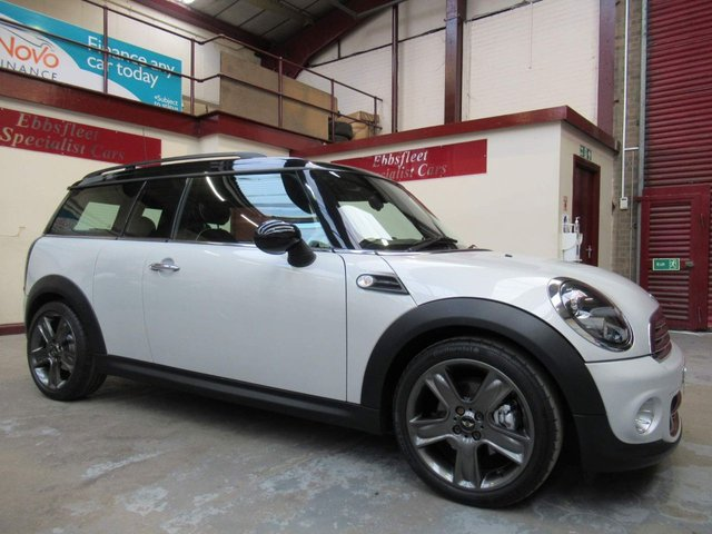USED 2010 60 MINI CLUBMAN 1.6 Cooper D Soho 5dr ***52000 MILES S/HISTORY***