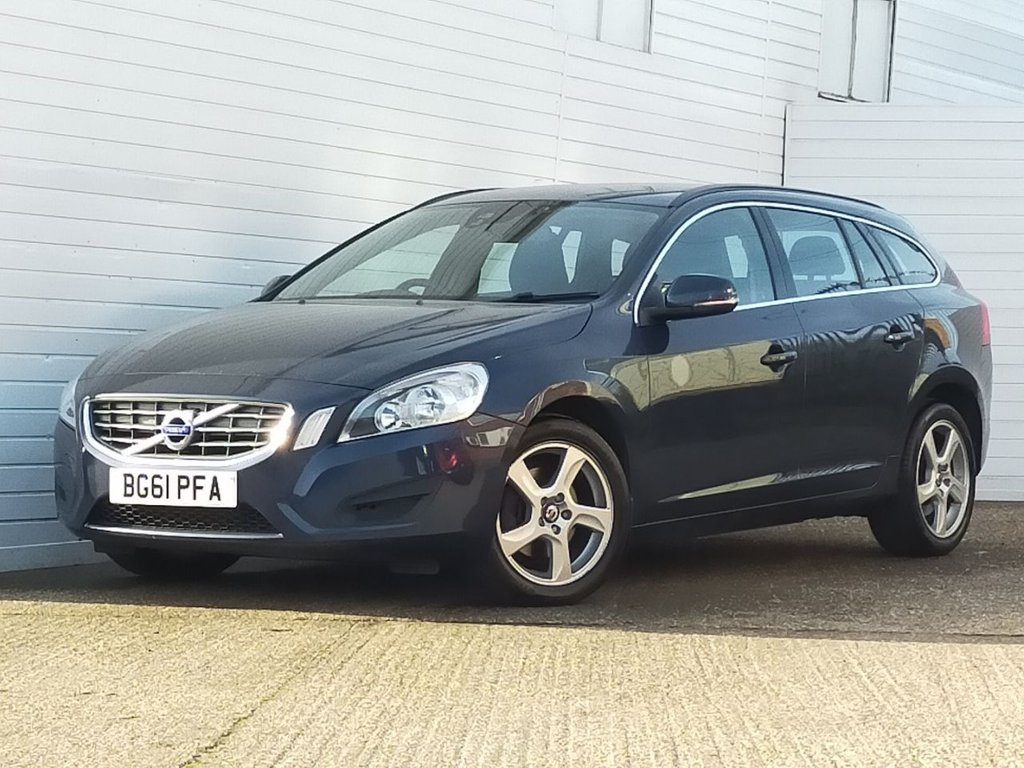 USED 2011 61 VOLVO V60 1.6 DRIVE SE S/S 5d 113 BHP Buy Online Moneyback Guarantee