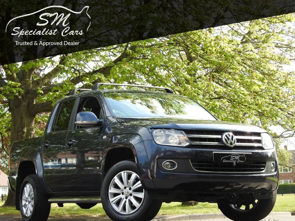USED 2016 16 VOLKSWAGEN AMAROK 2.0 DC TDI HIGHLINE 4MOTION 180 BHP ONLY 47K FROM NEW LEATHER +VAT
