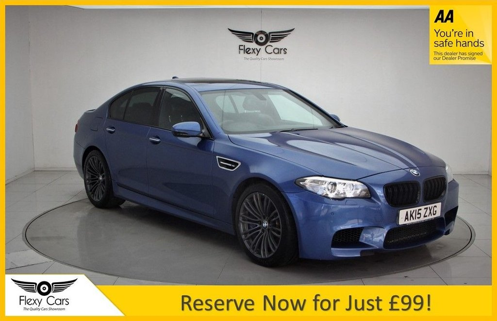 USED 2015 15 BMW M5 4.4 V8 DCT 4dr