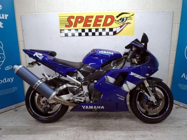USED 2001 T YAMAHA YZF R1