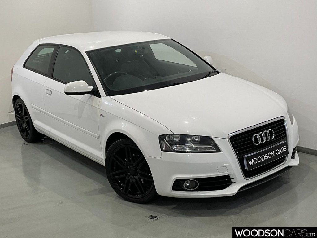 USED 2012 12 AUDI A3 2.0 TDI S LINE 3d 138 BHP Isofix / Upgraded Alloy Wheels / Leather Steering Wheel