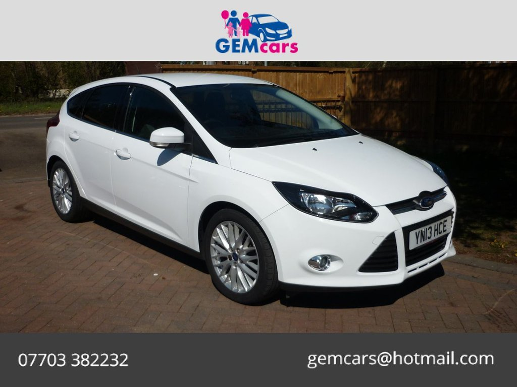 USED 2013 13 FORD FOCUS 1.0 ZETEC 5d 99 BHP GO TO OUR WEBSITE TO WATCH A FULL WALKROUND VIDEO