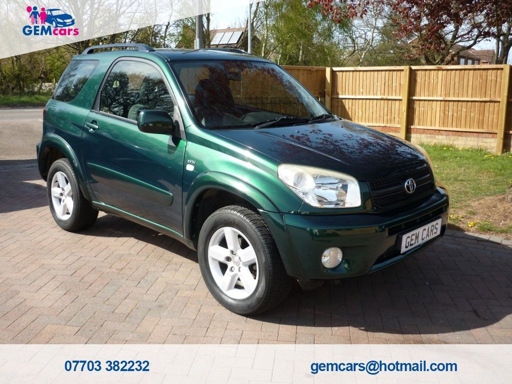USED 2004 02 TOYOTA RAV4 2.0 XT3 VVT-I 3d 147 BHP GO TO OUR WEBSITE TO WATCH A FULL WALKROUND VIDEO