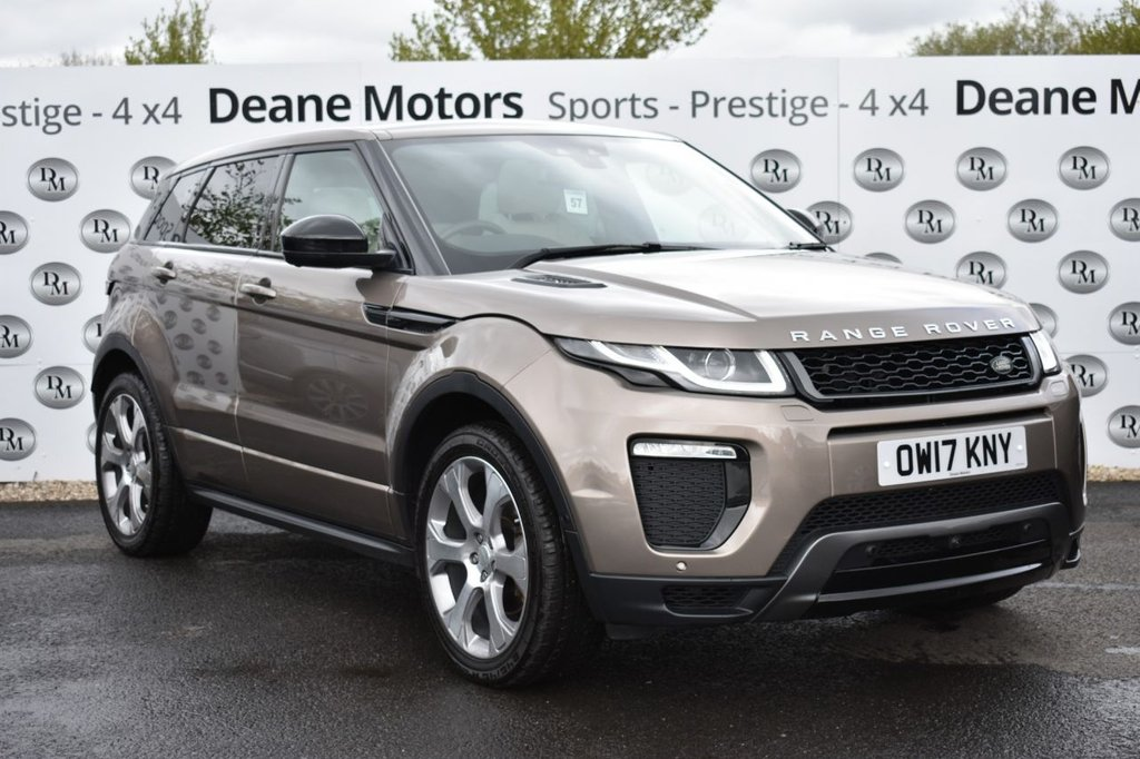 USED 2017 17 LAND ROVER RANGE ROVER EVOQUE 2.0 TD4 HSE DYNAMIC LUX 5d 177 BHP STUNNING COLOUR