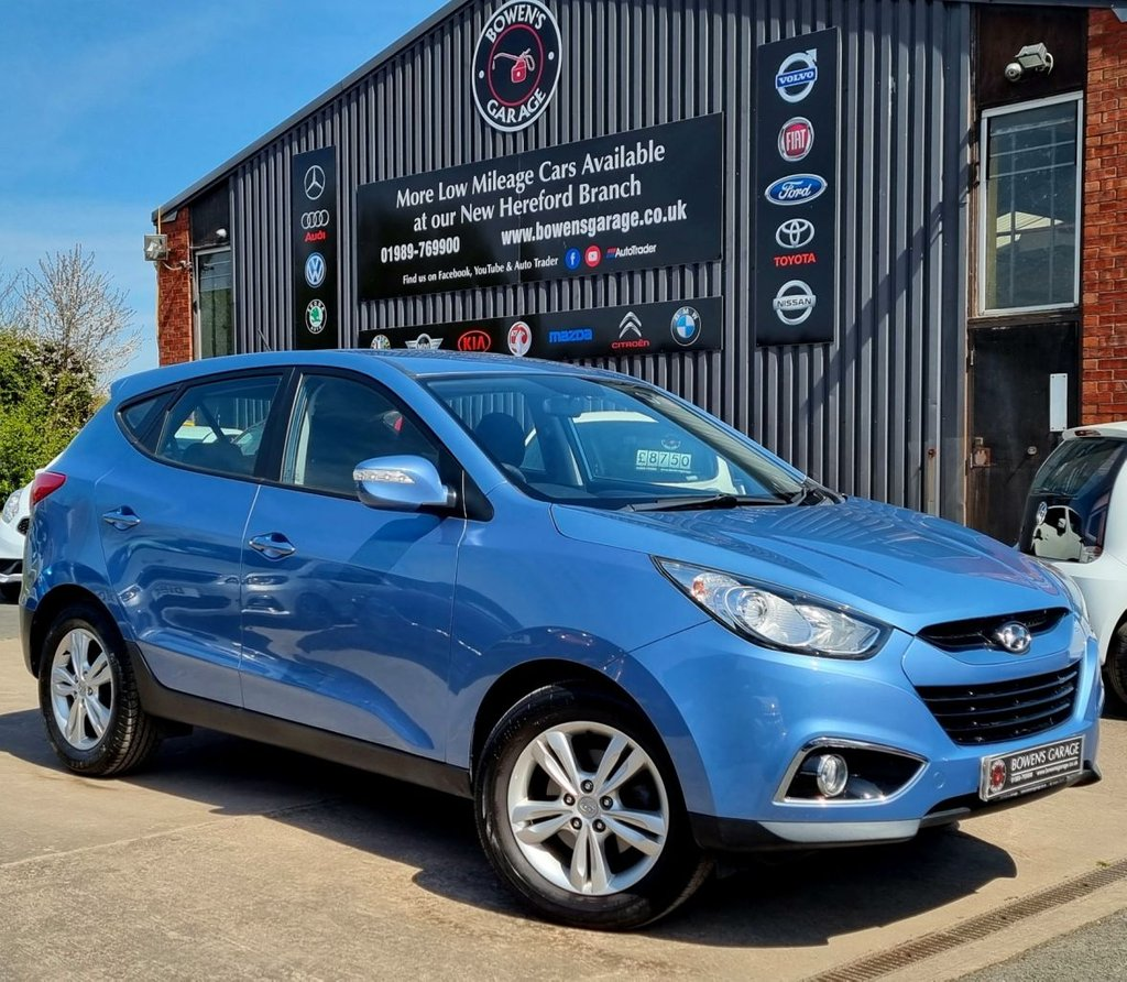 USED 2012 62 HYUNDAI IX35 1.6 STYLE GDI  5D 133 BHP 1 Owner - Low Miles - 9 Services - Big Spec