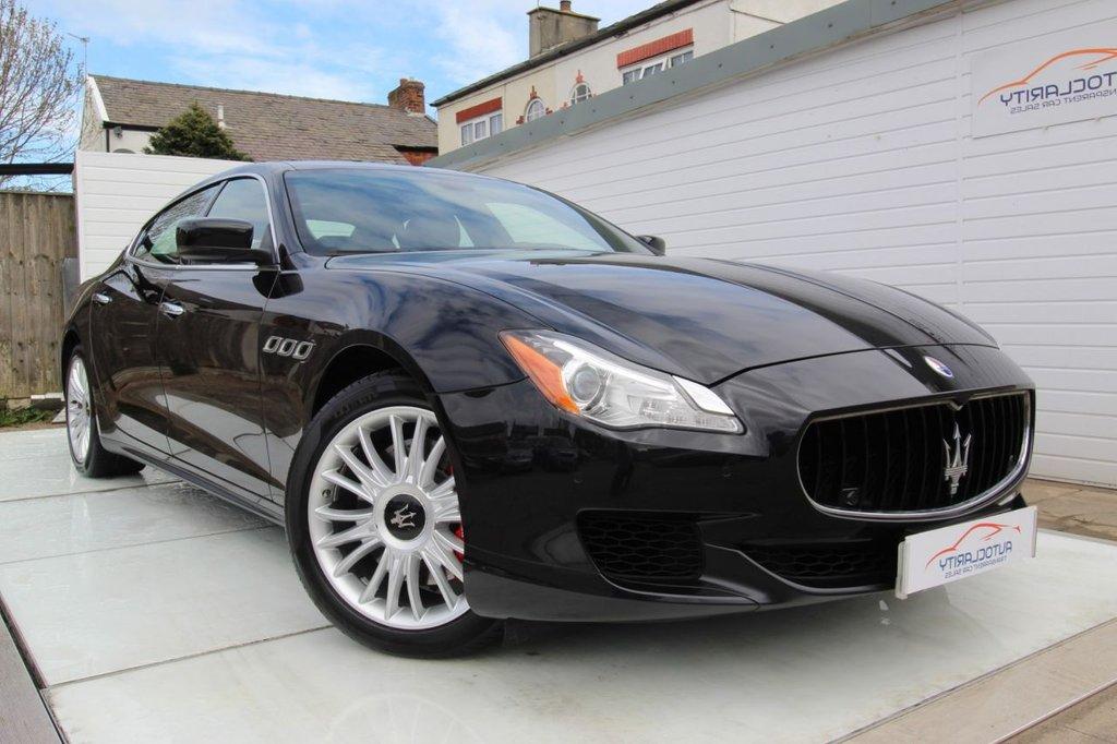 USED 2015 65 MASERATI QUATTROPORTE 3.0 S 4d 410 BHP 1 Owner  Full Maserati History