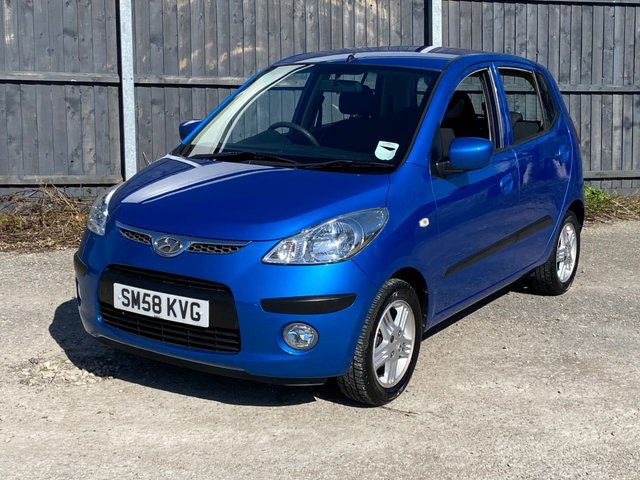USED 2009 58 HYUNDAI I10 1.2 COMFORT 5d 77 BHP AUTOMATIC LOW MILEAGE, AIR CON, FINANCE ME TODAY-UK DELIVERY POSSIBLE