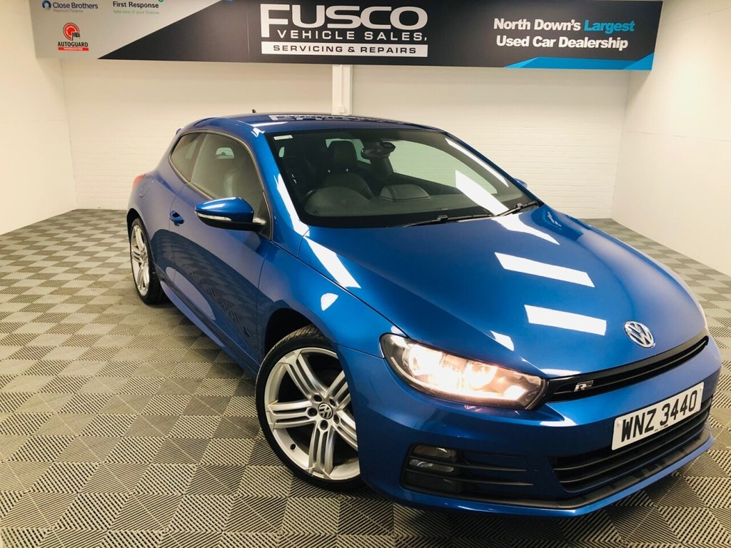 USED 2014 VOLKSWAGEN SCIROCCO 2.0 R LINE TDI BLUEMOTION TECHNOLOGY 2d 150 BHP NATIONWIDE DELIVERY AVAILABLE!