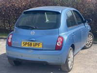 USED 2008 58 NISSAN MICRA 1.4 TEKNA 5d SERVICE HISTORY, 12 MONTHS MOT, REAR PARKING SENSORS, ELECTRIC MIRRORS