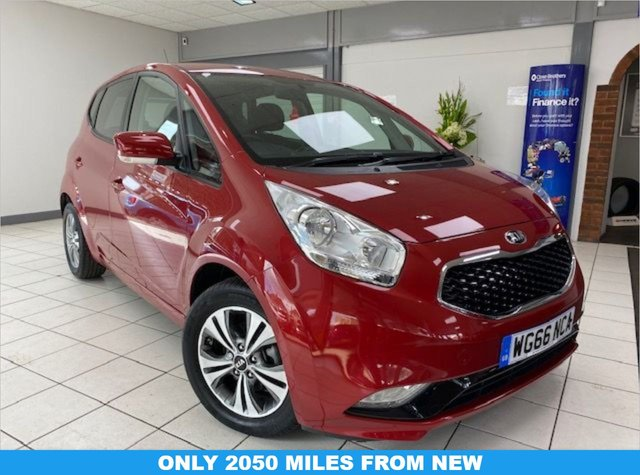 USED 2017 66 KIA VENGA 1.6 3 5d 123 BHP / AUTOMATIC INFRA RED METALLIC / BLACK TRIM / 1.6 AUTOMATIC / ONLY 2070 MILES FROM NEW