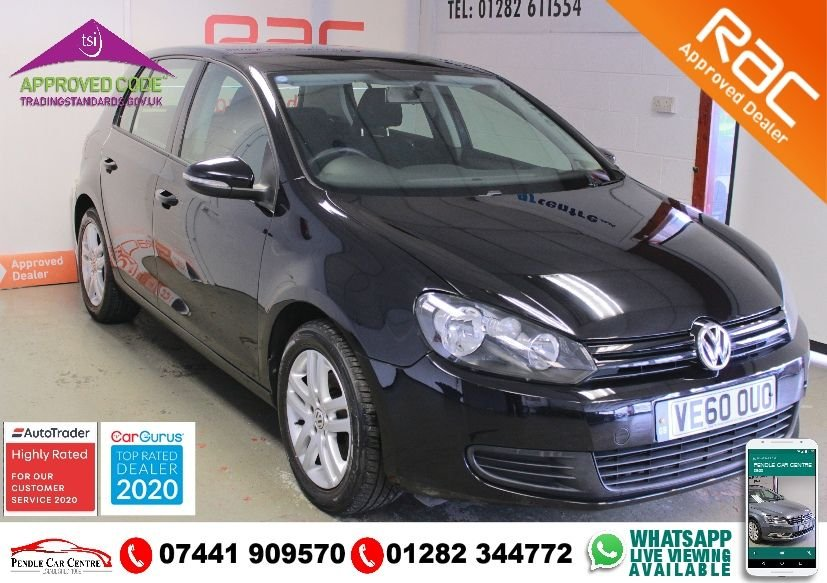 USED 2011 60 VOLKSWAGEN GOLF 1.4 TWIST 5d 79 BHP RAC PLATINUM WARRANTY INCLUDED + LOW MILEAGE - LESS THAN 8K PER YEAR + LOTS OF SPEC