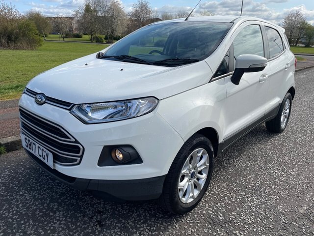 USED 2017 17 FORD ECOSPORT 1.0 ZETEC 5d 124 BHP 2 Owners - Low Miles - 2 Keys - FSH