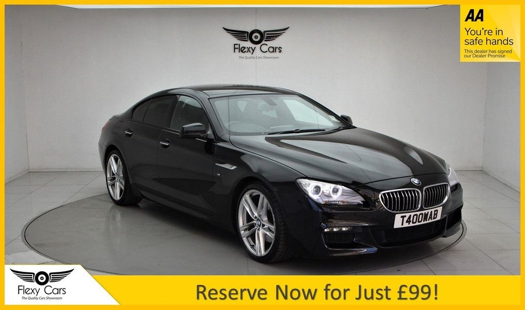 USED 2014 T BMW 6 SERIES 3.0 640D M SPORT GRAN COUPE 4d 309 BHP
