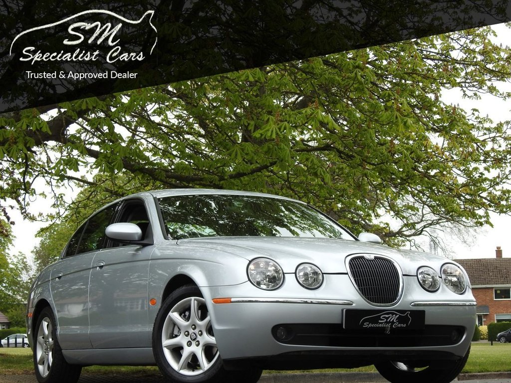 USED 2007 JAGUAR S-TYPE 3.0 XS V6 4d 240 BHP ONLY 34K FROM NEW LEATHER FSH