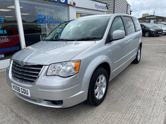 USED 2008 08 CHRYSLER GRAND VOYAGER 2.8 CRD TOURING 5d 161 BHP 7 SEATS*2 KEYS*BLUETOOTH*CRUISE CONTROL*SERVICE HISTORY