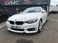 USED 2017 67 BMW 4 SERIES 2.0 420D M SPORT 2d 188 BHP SAT NAV, LEATHER + MORE