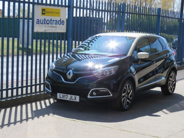 USED 2017 17 RENAULT CAPTUR 0.9 DYNAMIQUE S NAV TCE 5dr 90 Sat Nav-Bluetooth & DAB- Cruise-Alloys-Rear Parking Sensors Sat Nav-Cruise-DAB-Alloys-Fogs-Bluetooth-Rear Parking Sensors-A/C