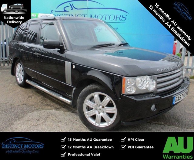 USED 2007 57 LAND ROVER RANGE ROVER 3.6 TDV8 VOGUE 5d 272 BHP