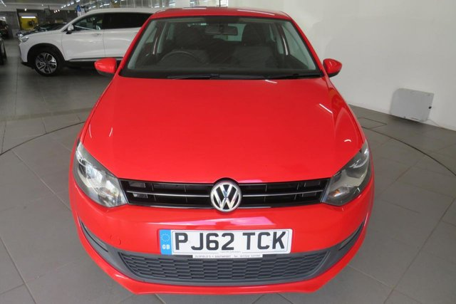 USED 2012 62 VOLKSWAGEN POLO 1.2 MATCH 3d 59 BHP