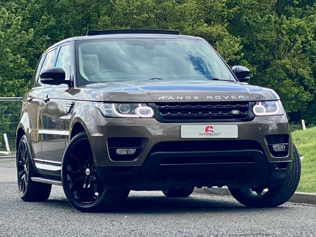 USED 2013 63 LAND ROVER RANGE ROVER SPORT 3.0 SDV6 HSE DYNAMIC 5d 288 BHP 2 OWNERS ONLY 49K PAN ROOF HUGE SPEC