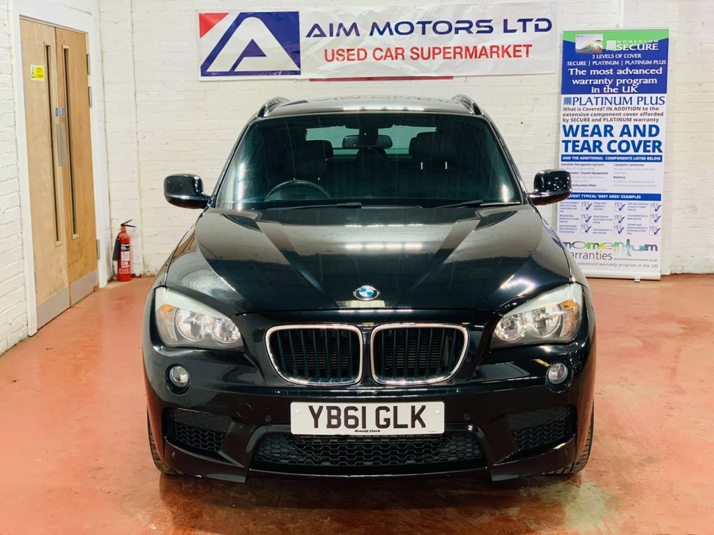 USED 2012 61 BMW X1 2.0 XDRIVE20D M SPORT 5d 174 BHP LONG MOT TILL NOV 2021 - WARRANTY & BREAKDOWN COVER INCLUDED