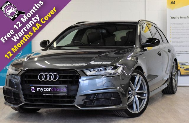 USED 2018 67 AUDI A6 2.0 AVANT TDI ULTRA BLACK EDITION 5d AUTO 188 BHP FULL AUDI SERVICE HISTORY, LED HEADLIGHTS WITH HIGHBEAM ASSIST, BOSS SOUND SYSTEM, VALCONA LEATHER, HEATED SEATS, ELECTRIC SEATS WITH DRIVERS MEMORY, SAT NAV, CRUISE CONTROL, PARKING AID