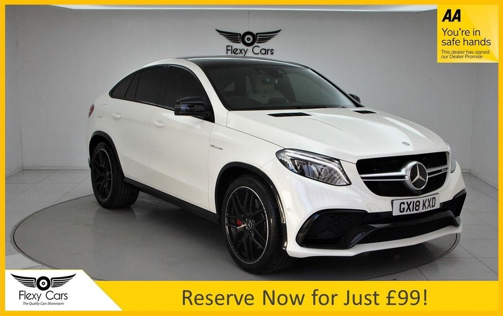 USED 2018 18 MERCEDES-BENZ GLE-CLASS 5.5 AMG GLE 63 S 4MATIC 4d 577 BHP