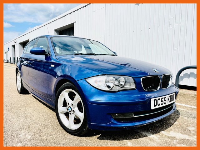 USED 2009 BMW 1 SERIES 116d Sport 5dr ONLY £30 A YEAR ROAD TAX - 12 MONTH MOT - SERVICE HISTORY, LAST MAY 2021