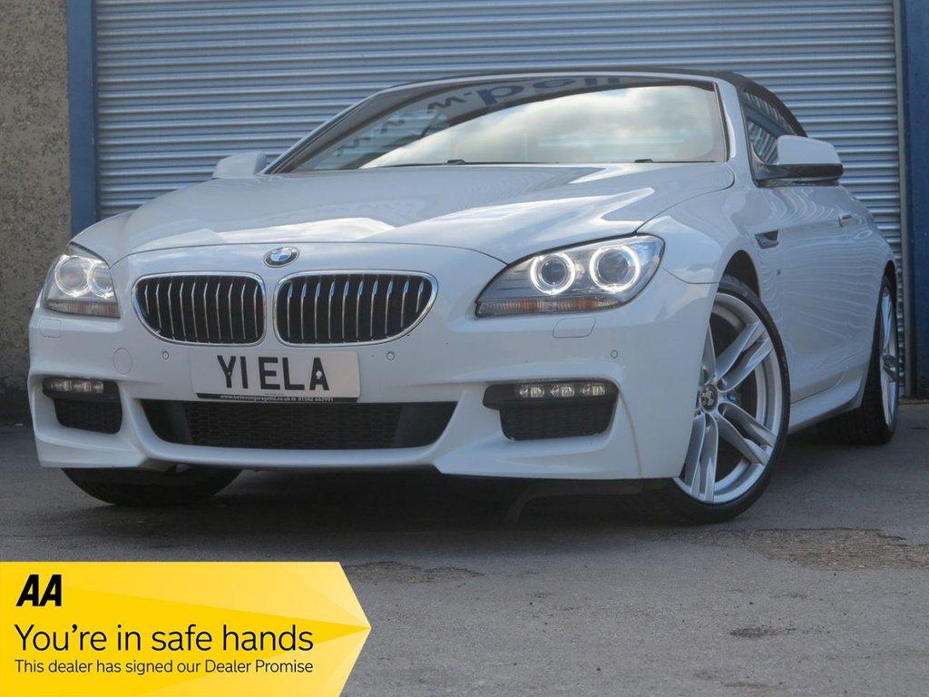 USED 2013 Y BMW 6 SERIES 3.0 640D M SPORT 2d 309 BHP
