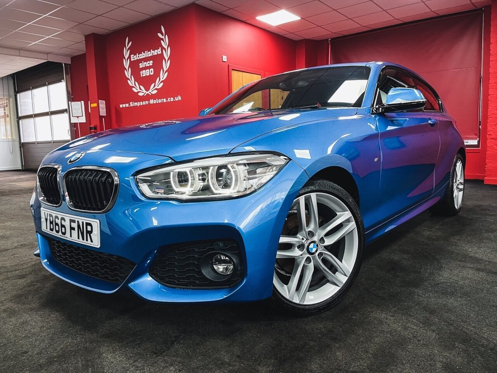 USED 2016 66 BMW 1 SERIES 1.5 116D M SPORT 3d 114 BHP
