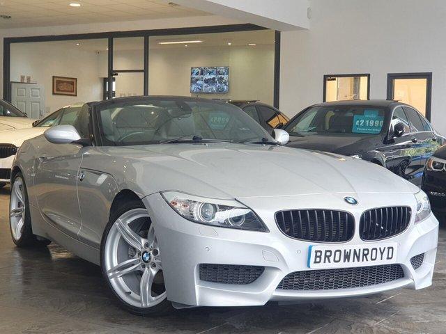 "USED 2013 13 BMW Z4 2.0 Z4 SDRIVE20I M SPORT ROADSTER 2d 181 BHP HTD LEATHER+19"" ALLOYS+FSH"