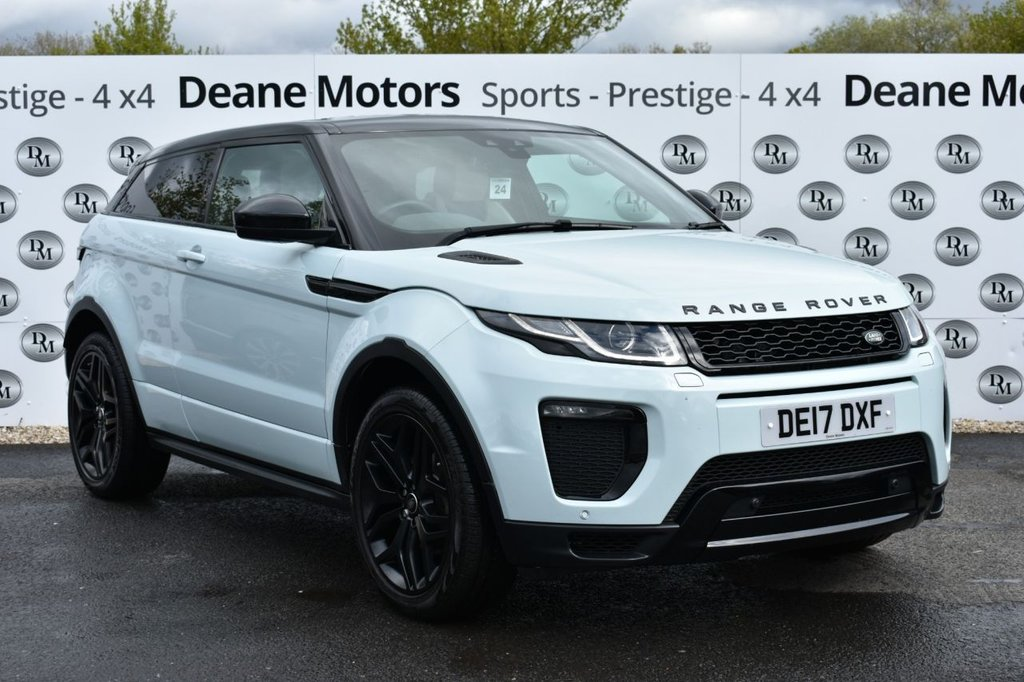USED 2017 17 LAND ROVER RANGE ROVER EVOQUE 2.0 TD4 HSE DYNAMIC 3d 177 BHP GREAT LOOKS