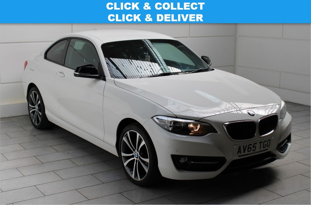 USED 2015 65 BMW 2 SERIES 1.5 218i Sport (start/stop) [SAT NAV]