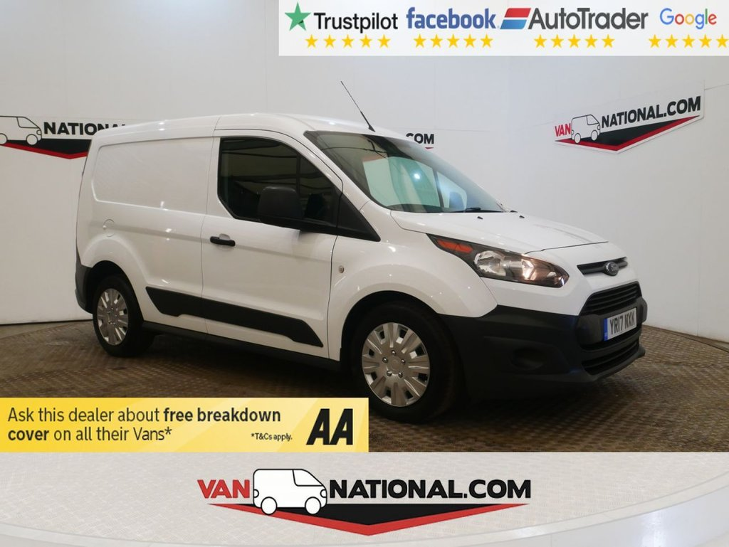 USED 2017 17 FORD TRANSIT CONNECT 1.5 200 P/V 75 BHP WWW.VANNATIONAL.COM