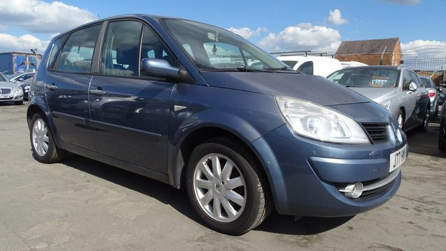 USED 2008 08 RENAULT SCENIC 1.5 DYNAMIQUE DCI 5d 106 BHP 1 YEAR MOT
