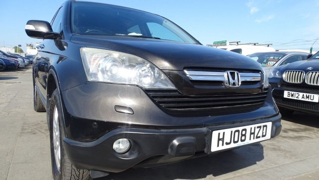 USED 2008 08 HONDA CR-V 2.2 I-CTDI ES 5d 139 BHP NEW MOT DRIVES A1