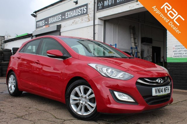 USED 2014 14 HYUNDAI I30 1.6 STYLE BLUE DRIVE CRDI  5d 126 BHP VIEW AND RESERVE ONLINE OR CALL 01527-853940 FOR MORE INFO.