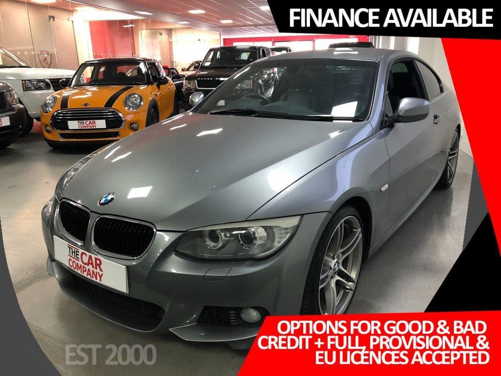 USED 2011 61 BMW 3 SERIES 2.0 320D M SPORT 2d 181 BHP * 19 INCH ALLOYS * AIR CON * MOT DECEMBER * 2 KEYS * CRUISE CONTROL * PARKING SENSORS FRONT & REAR*