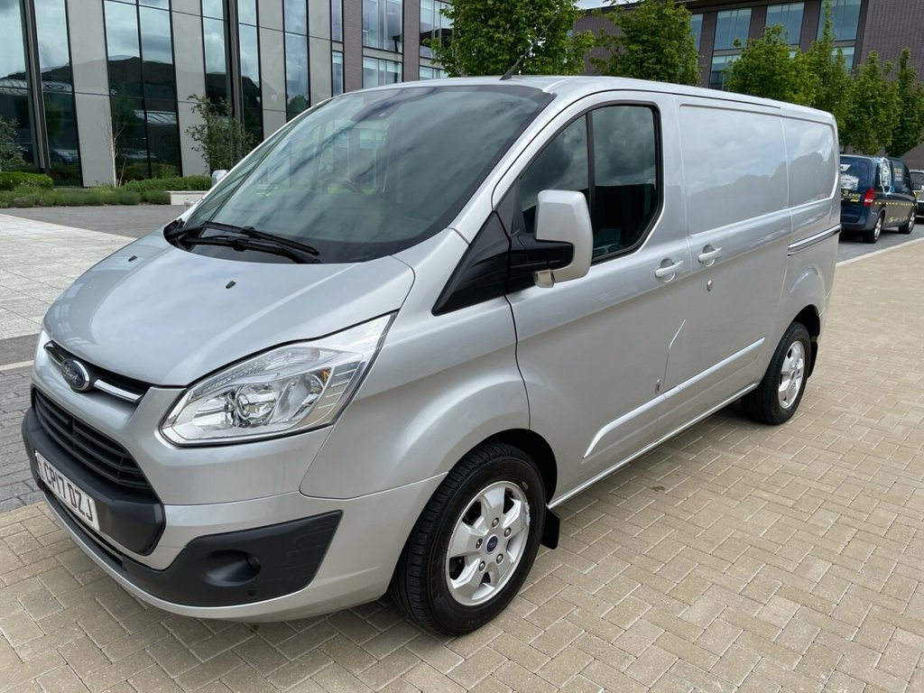 USED 2017 17 FORD TRANSIT CUSTOM 290 LIMITED 2.0TDCI EURO 6 130ps L1H1 *A/C*ALLOYS*SENSORS*HEATED SEATS* LIMITED-EXCELLENT EXTRAS-EURO6