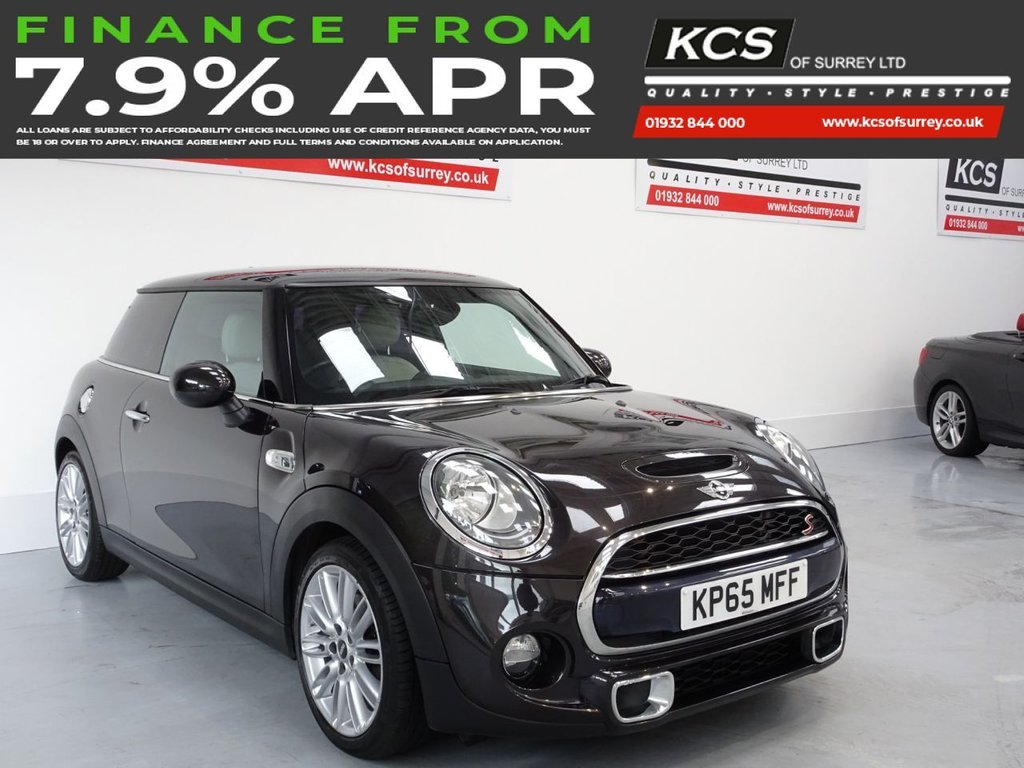 USED 2015 65 MINI HATCH COOPER 2.0 COOPER S 3d 189 BHP CHILI PACK - HTD LEATHER