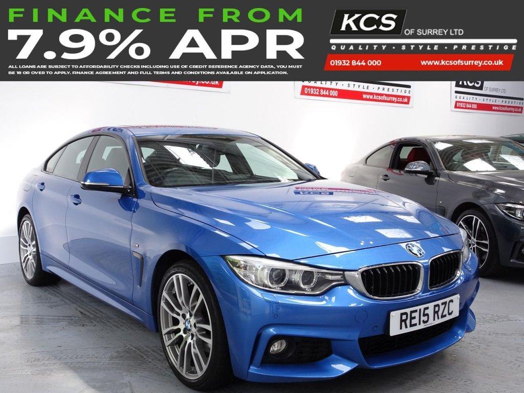USED 2015 15 BMW 4 SERIES 3.0 430D XDRIVE M SPORT GRAN COUPE 4d 255 BHP 4WD - PRO NAV - SUNROOF