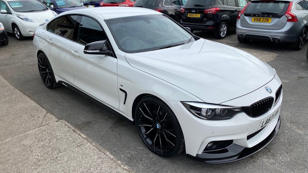 USED 2018 67 BMW 4 SERIES 2.0 420I M SPORT GRAN COUPE 4d 181 BHP