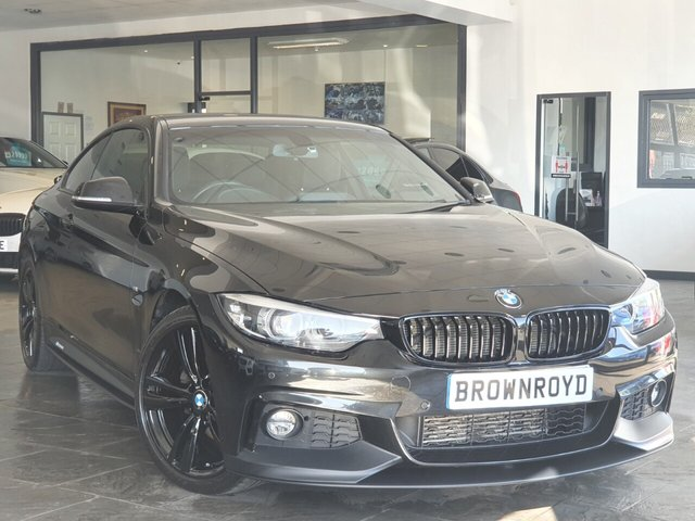 USED 2018 18 BMW 4 SERIES 2.0 420D XDRIVE M SPORT 2d 188 BHP BM PERFORMANCE STYLING+X-DRIVE