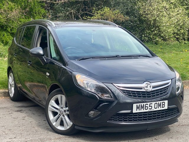 USED 2015 65 VAUXHALL ZAFIRA TOURER 1.6 SRI CDTI ECOFLEX S/S 5d 134 BHP ALLOY WHEELS, AIR CONDITIONING, CENTRE ARMREST