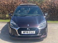 USED 2016 16 DS DS 3 1.6 THP PRESTIGE S/S 3d COMPREHENSIVE SERVICE HISTORY, MOT UNTIL MARCH 2022, SATELLITE  NAVIGATION, BLUETOOTH, CRUISE CONTROL