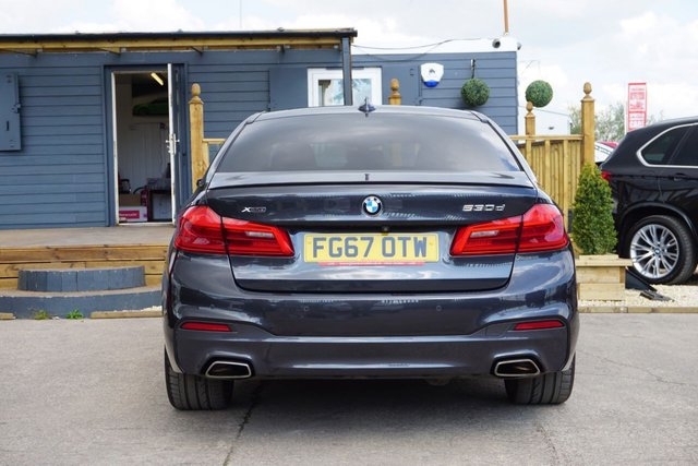 USED 2017 67 BMW 5 SERIES 3.0 530D XDRIVE M SPORT 4d 261 BHP *GREAT SPEC, GOOD HISTORY, LOVELY EXAMPLE*