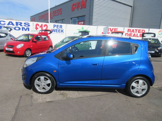 USED 2010 10 CHEVROLET SPARK 1.2 LT 5d 80 BHP **LOW MILEAGE IDEAL FIRST CAR***