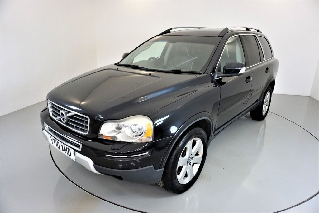 USED 2010 10 VOLVO XC90 2.4 D5 SE LUX PREMIUM AWD 5d-7 SEATS-HEATED BLACK LEATHER-CRUISE CONTROL-CLIMATE CONTROL-PRIVACY GLASS