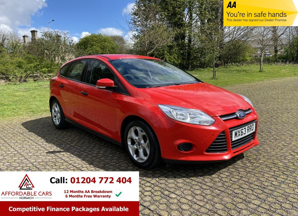 USED 2013 63 FORD FOCUS 1.6 STUDIO 5d 86 BHP Full Main Dealer History, 2Key
